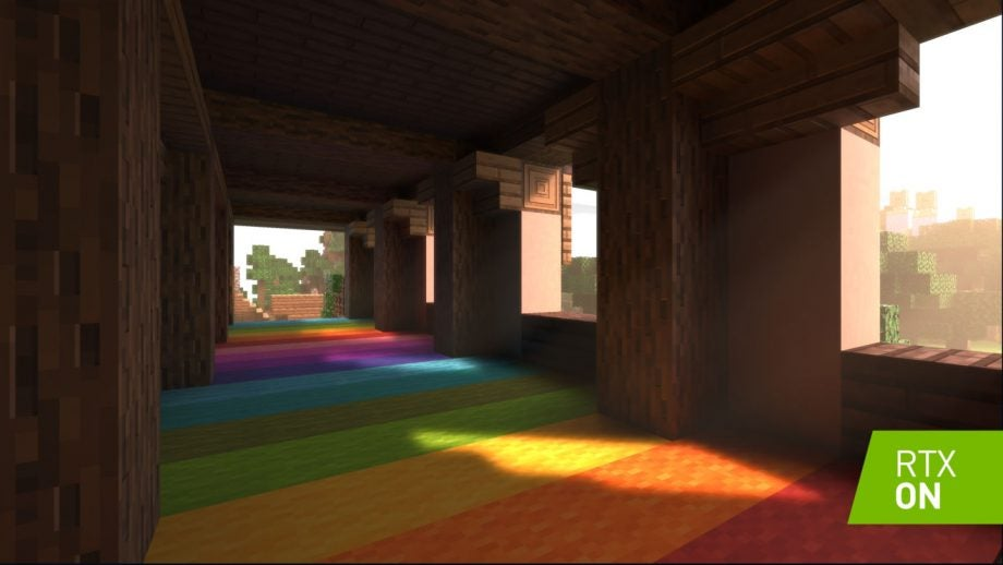 Minecraft is getting ray tracing, but this time it's official