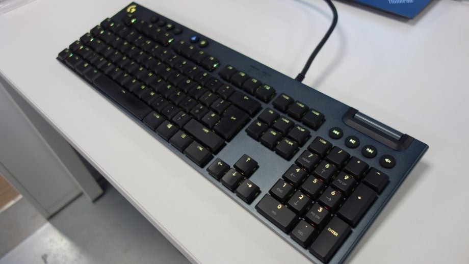Logitech G815 Lightsync RGB Keyboard Review | Trusted Reviews