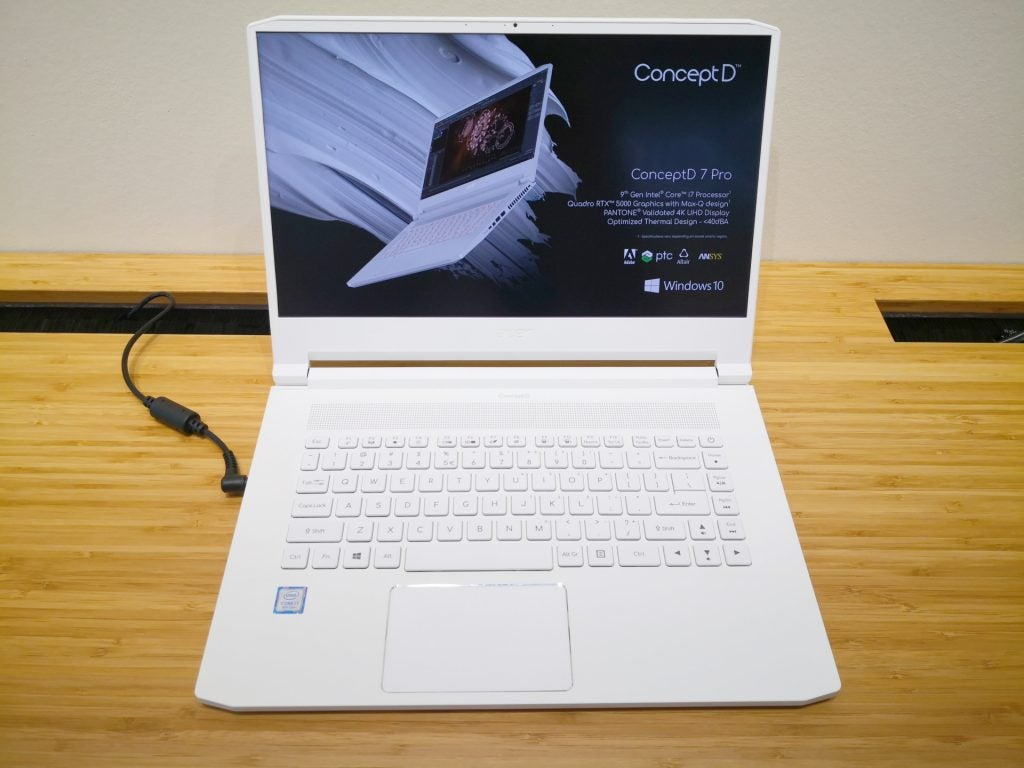 Acer unveils ConceptD Pro laptops packing Nvidia Quadro RTX
