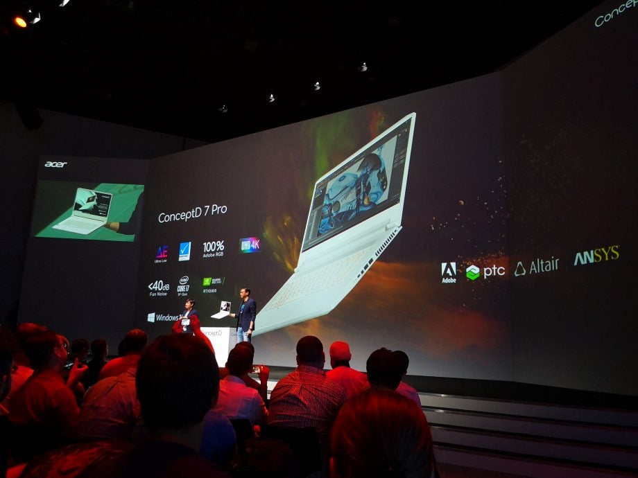 Acer ConceptD 7 Pro unveiled at IFA 2017
