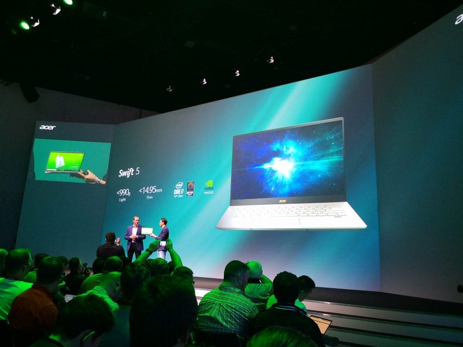 Acer Swift 5 with Intel Ice Lake confirmed at IFA 2019
