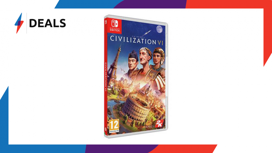 The Nintendo Switch port of Civilization 6 is at its lowest