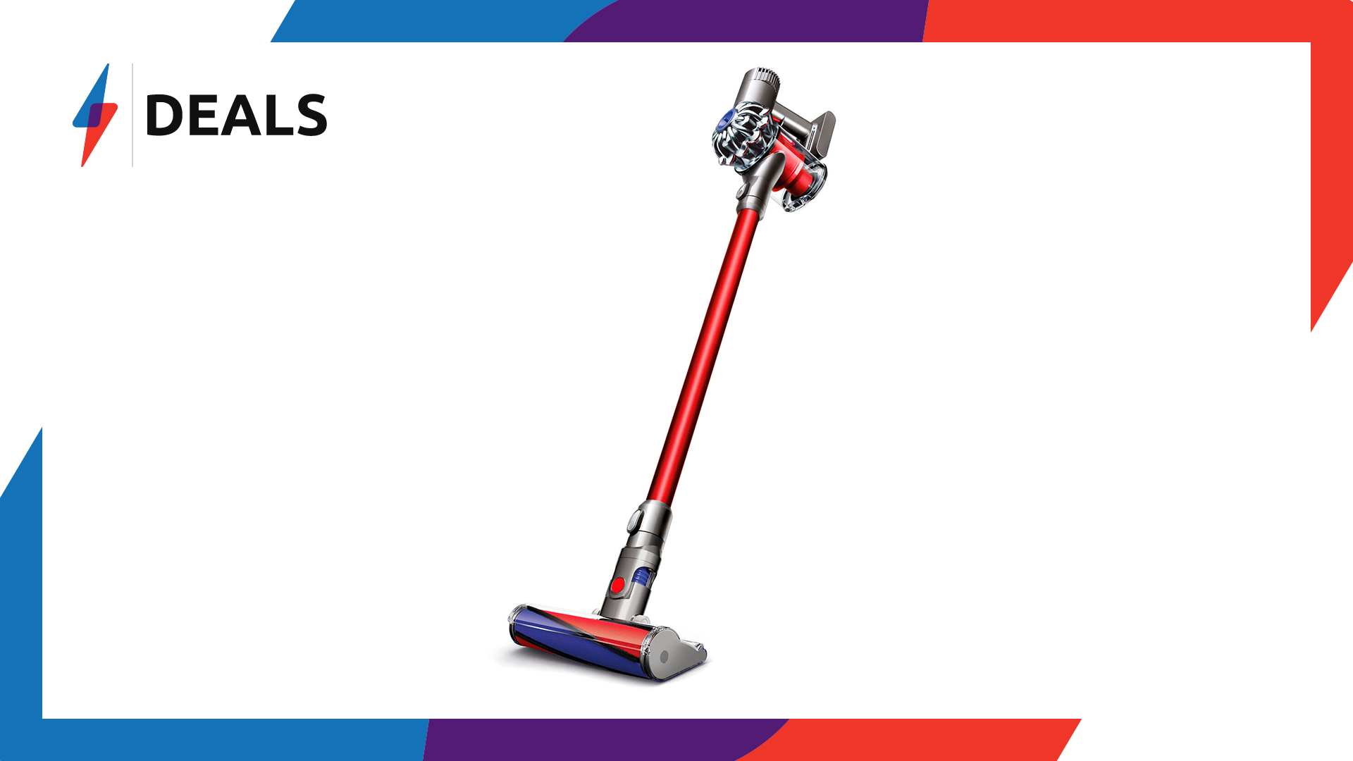 Price Cut: £110 off the Dyson V6 Cordless Vacuum Cleaner