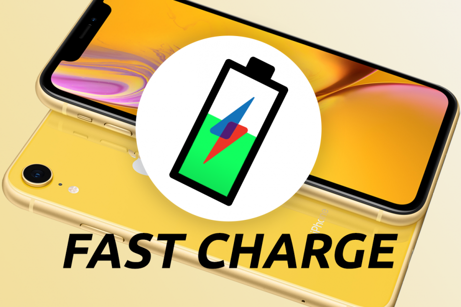 Fast Charge iPhone XR