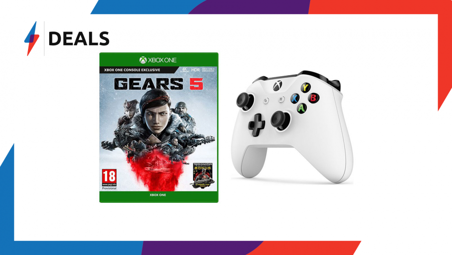 Gears 5 Deal Bundle – Grab an Xbox One Controller for just £20 more