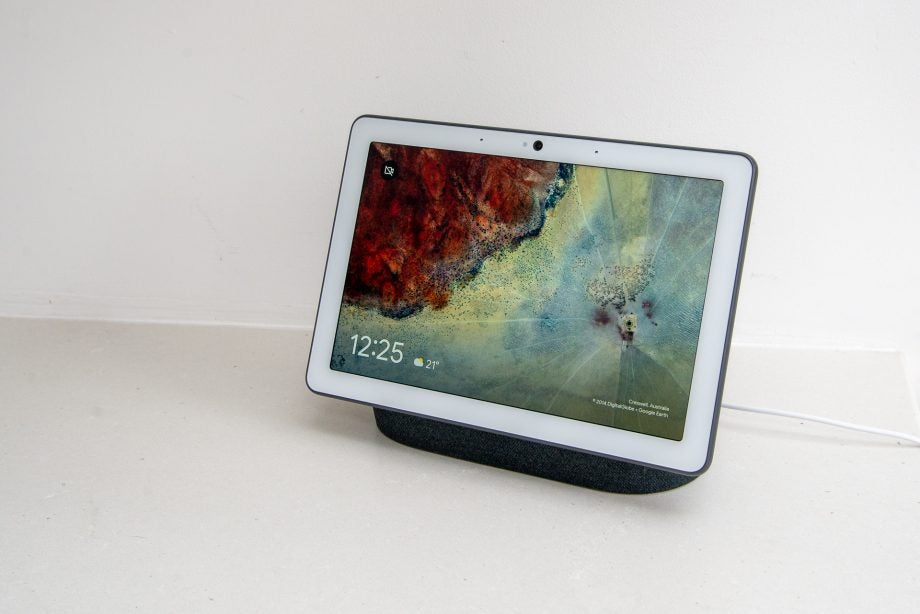 Google Nest Hub Max hero