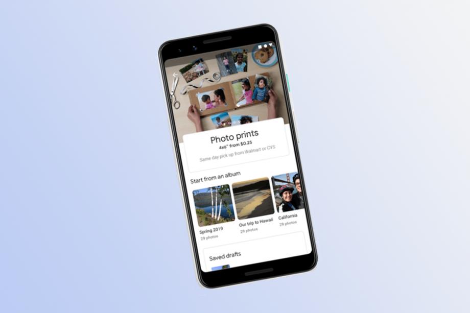 Google Photos prints