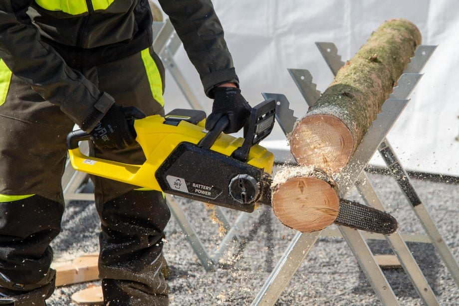 Karcher Battery Chainsaw