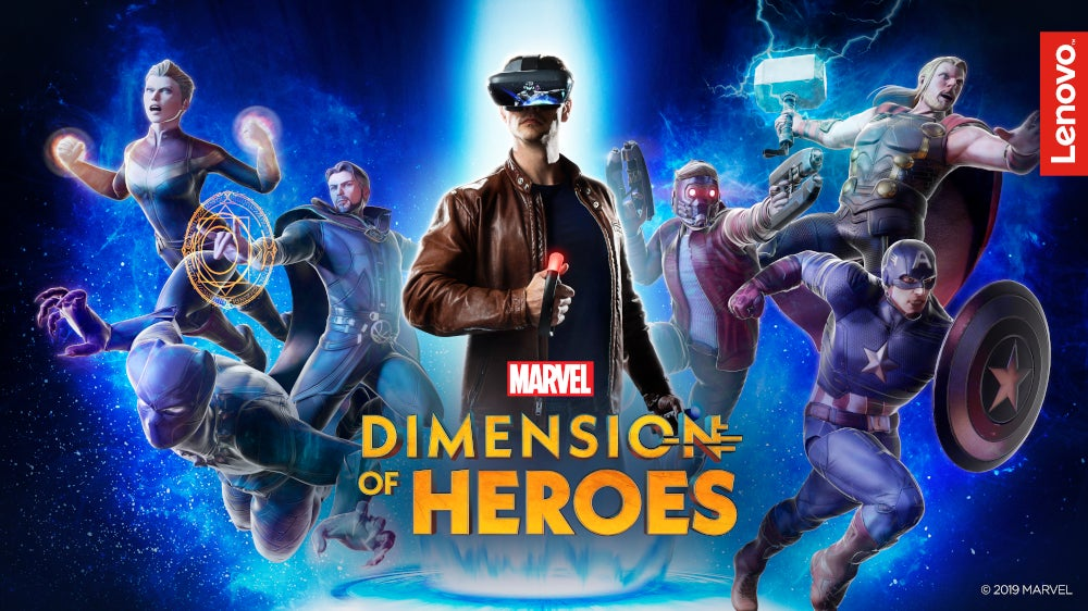Marvel Dimension of Heroes lets you become your favourite Avenger with Lenovo Mirage AR