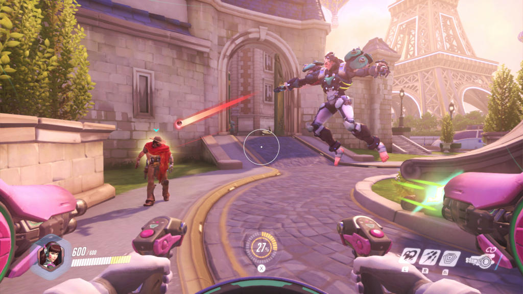 Here's a glimpse at how Overwatch will look on Nintendo