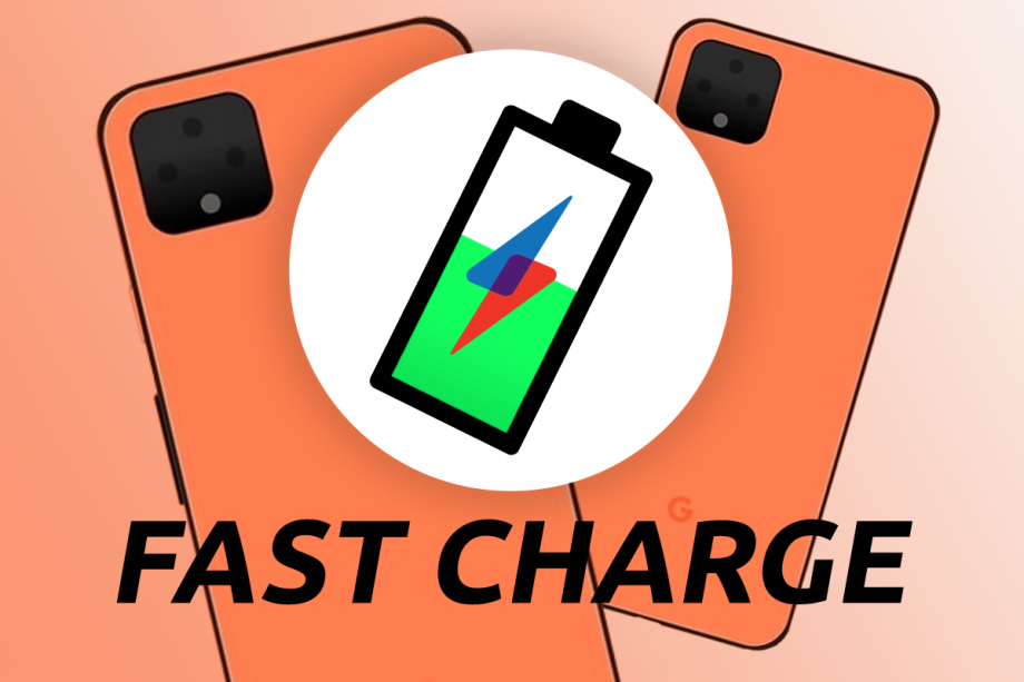 Pixel 4 Fast Charge