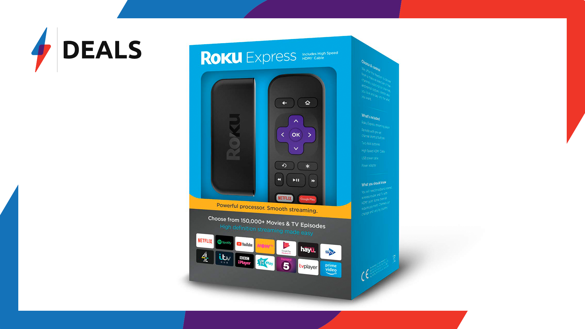 Stream the Roku Channel for less than £20 with this Roku Express deal