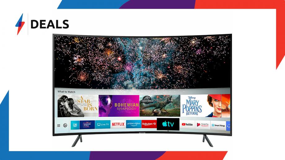 Samsung RU7300 Curved TV Deal