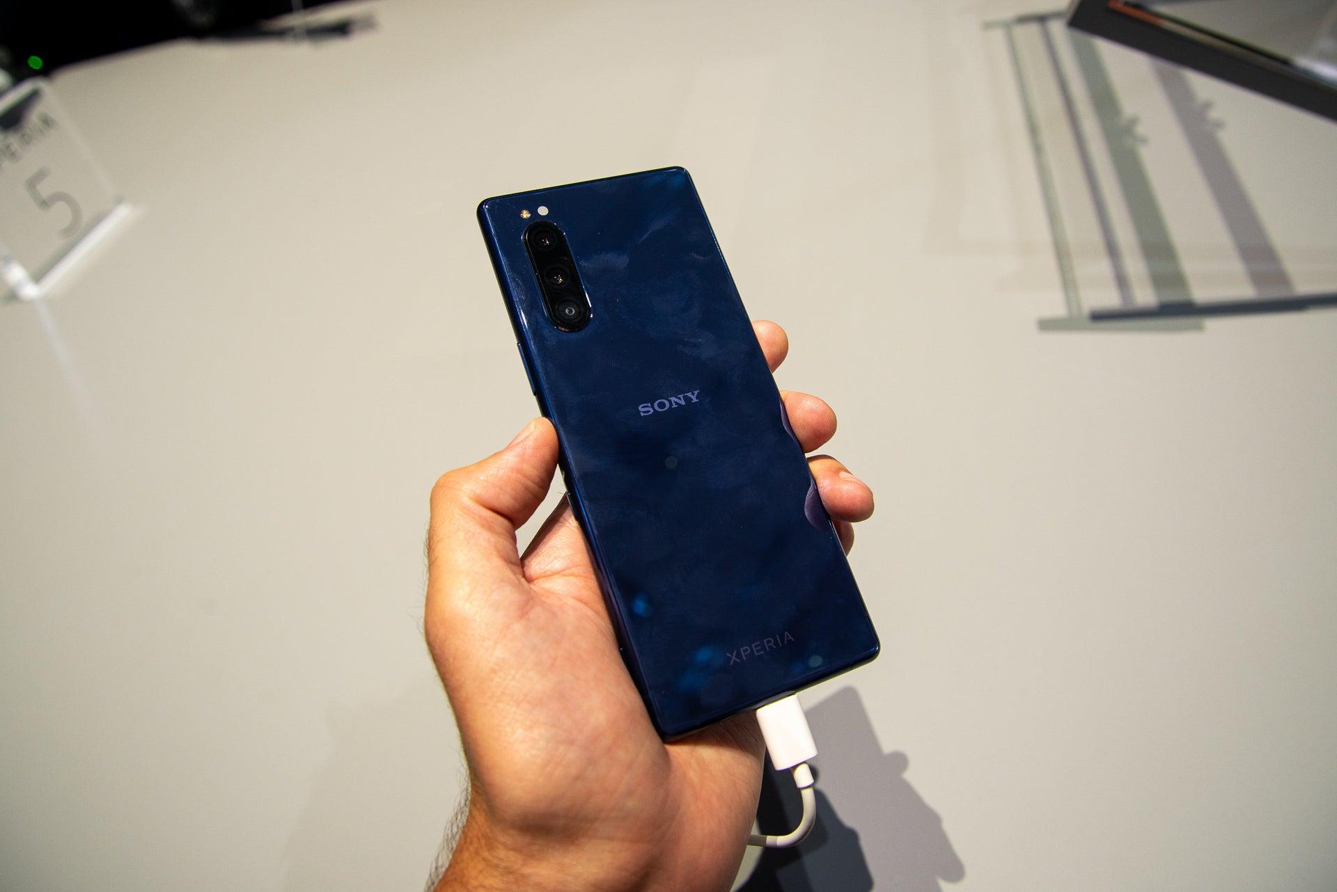 Sony Xperia 5 rear