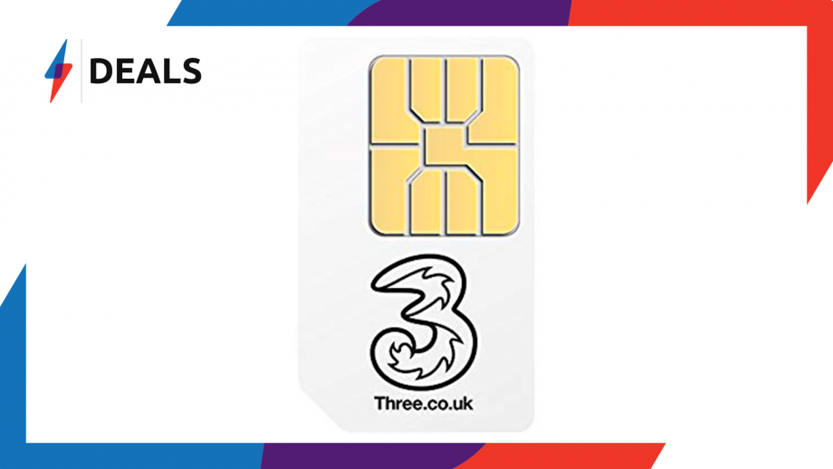 SIM-Only Sale: Pay just £10 a Month for Unlimited Data from Three Mobile