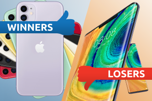 Winners Losers Apple Huawei