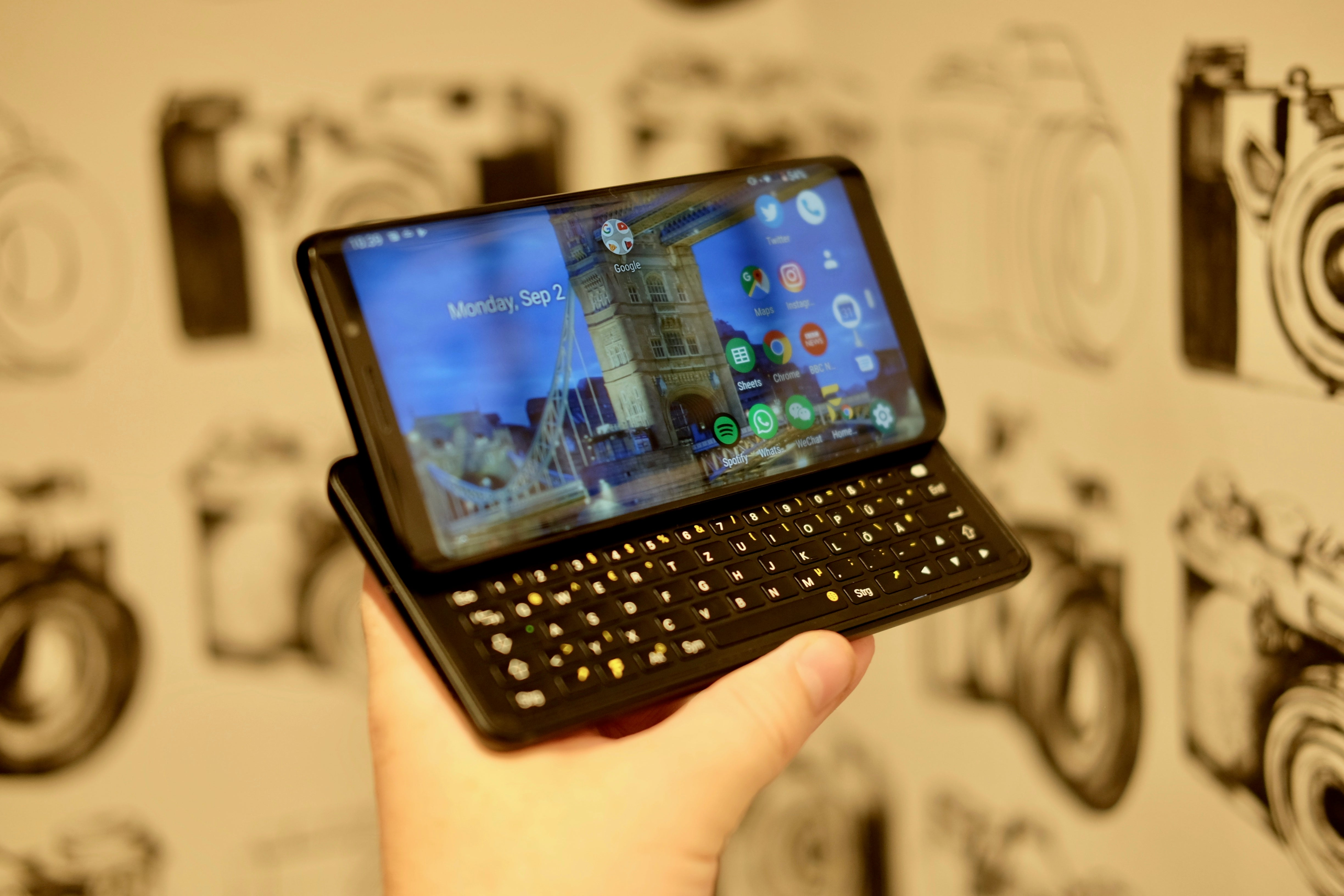 This keyboard-packing Android phone is one of the most interesting things at IFA 2019