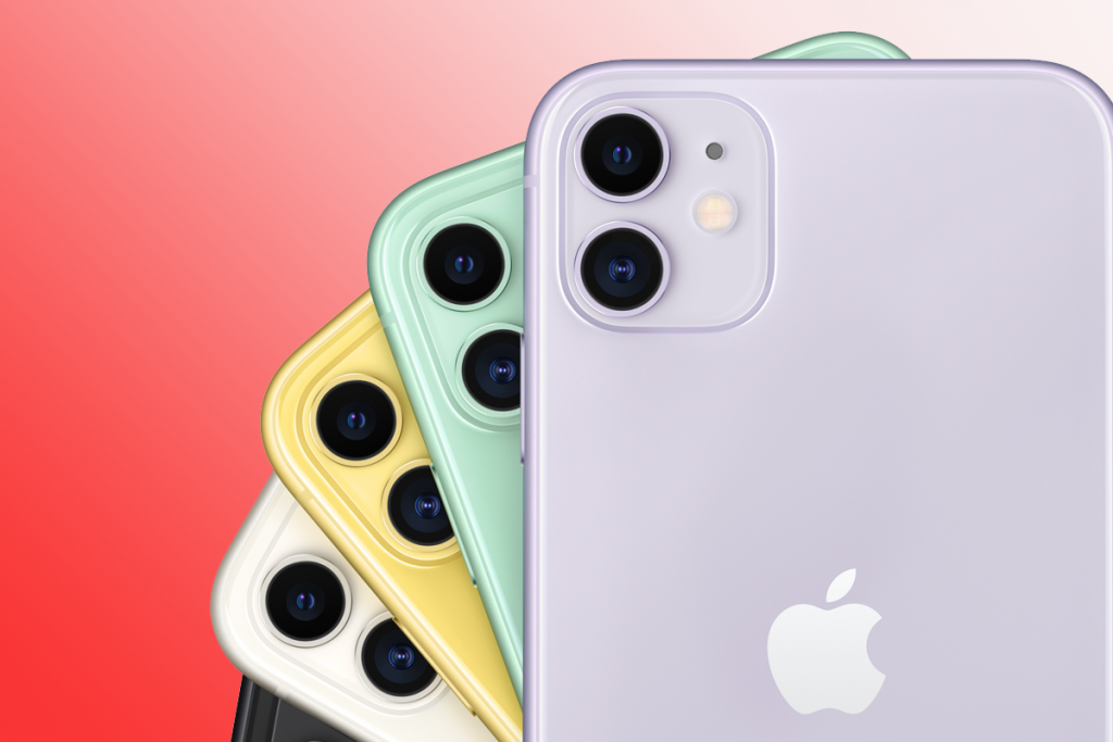 câmera para iPhone 11