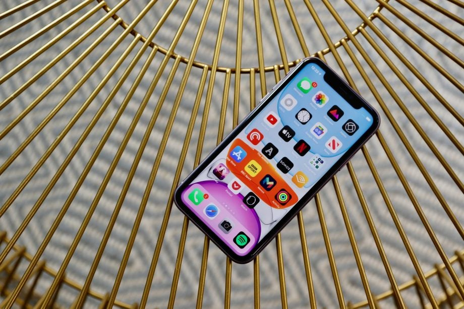 iPhone 11 flat