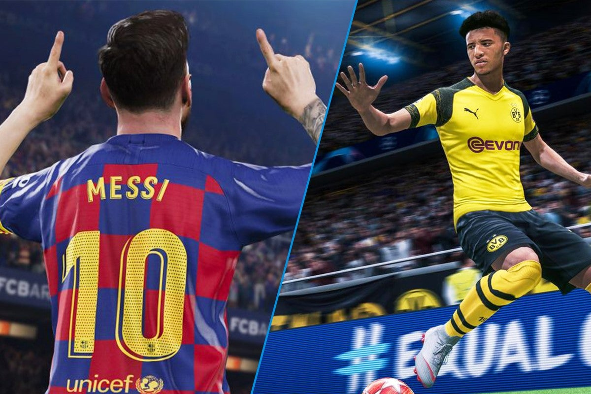 Fifa 20 Vs Pes 2020 Which Is The Definitive Football Sim