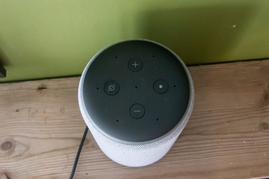 Amazon Echo 3rd Gen top