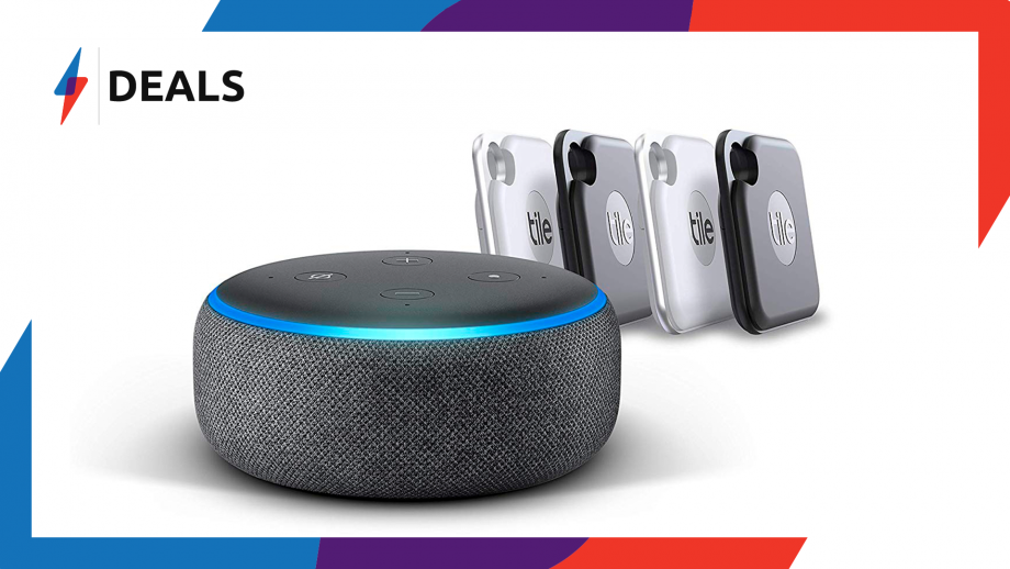 Echo Dot and Tile Pro Bundle deal