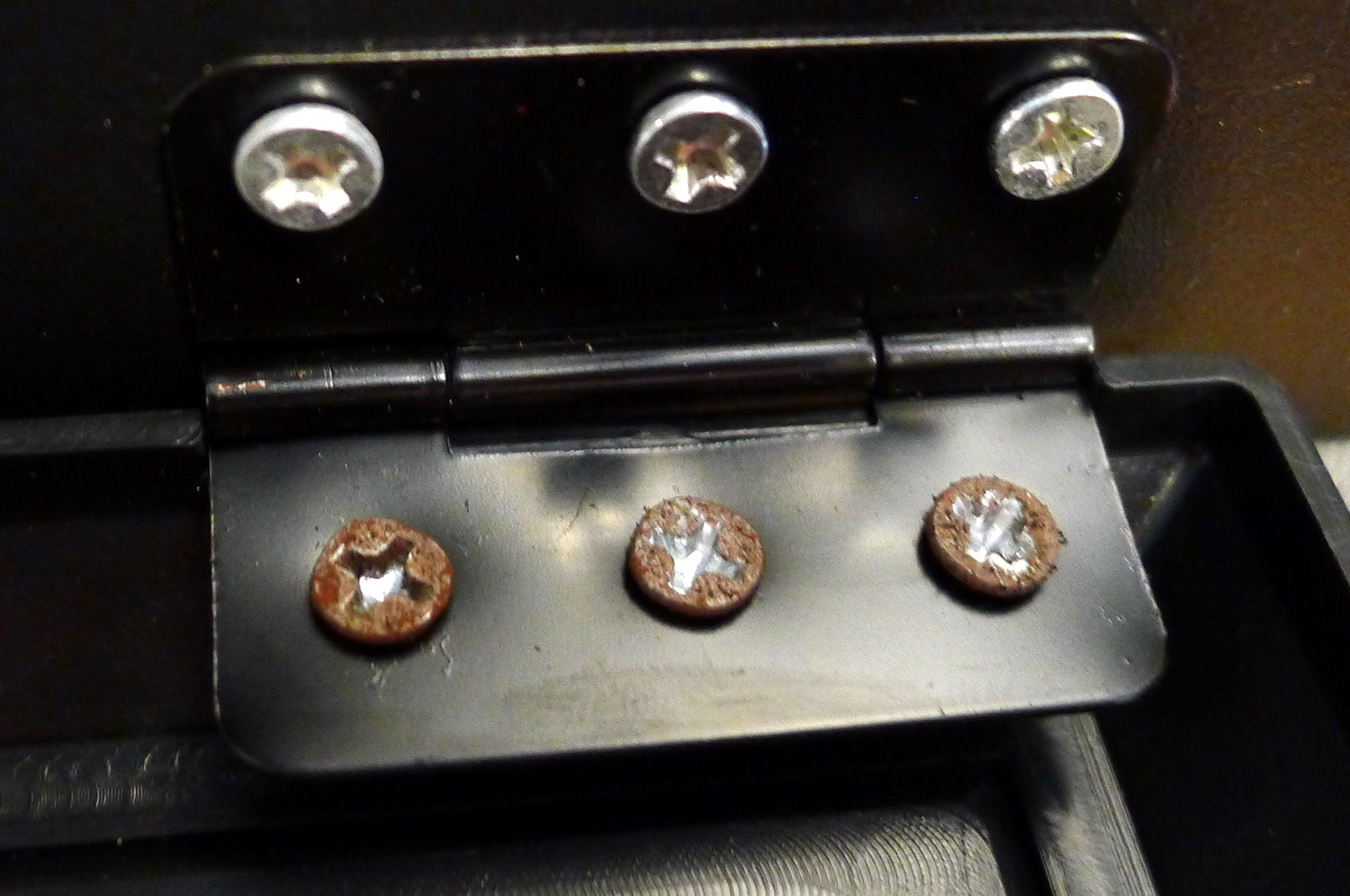 Fine Elements 2000W Stove Effect Heater control panel screws