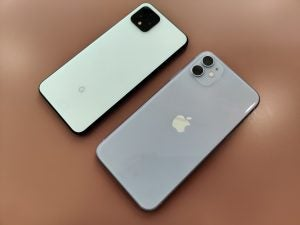 Pixel 4 vs iPhone 11