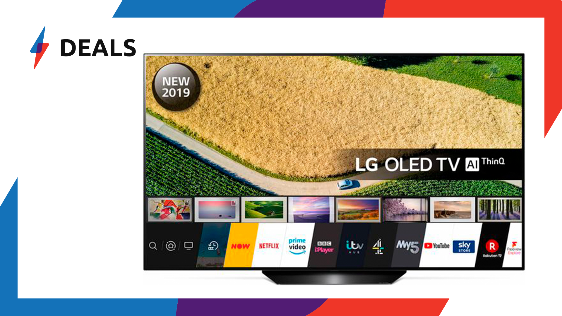 With over £700 off, this 65″ LG OLED TV is at one of its lowest prices yet