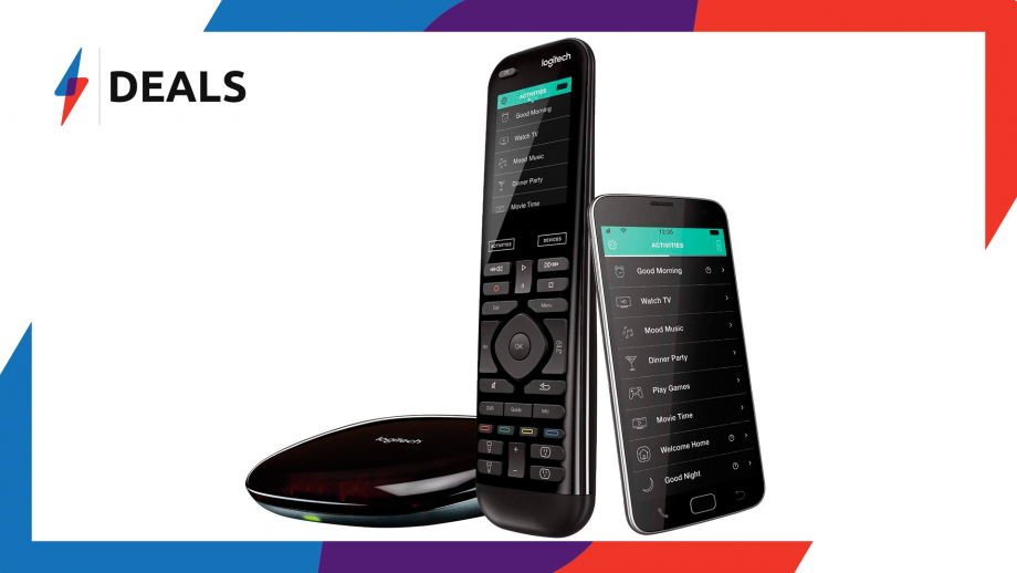 Logitech Harmony Elite Remote and Hub Deal