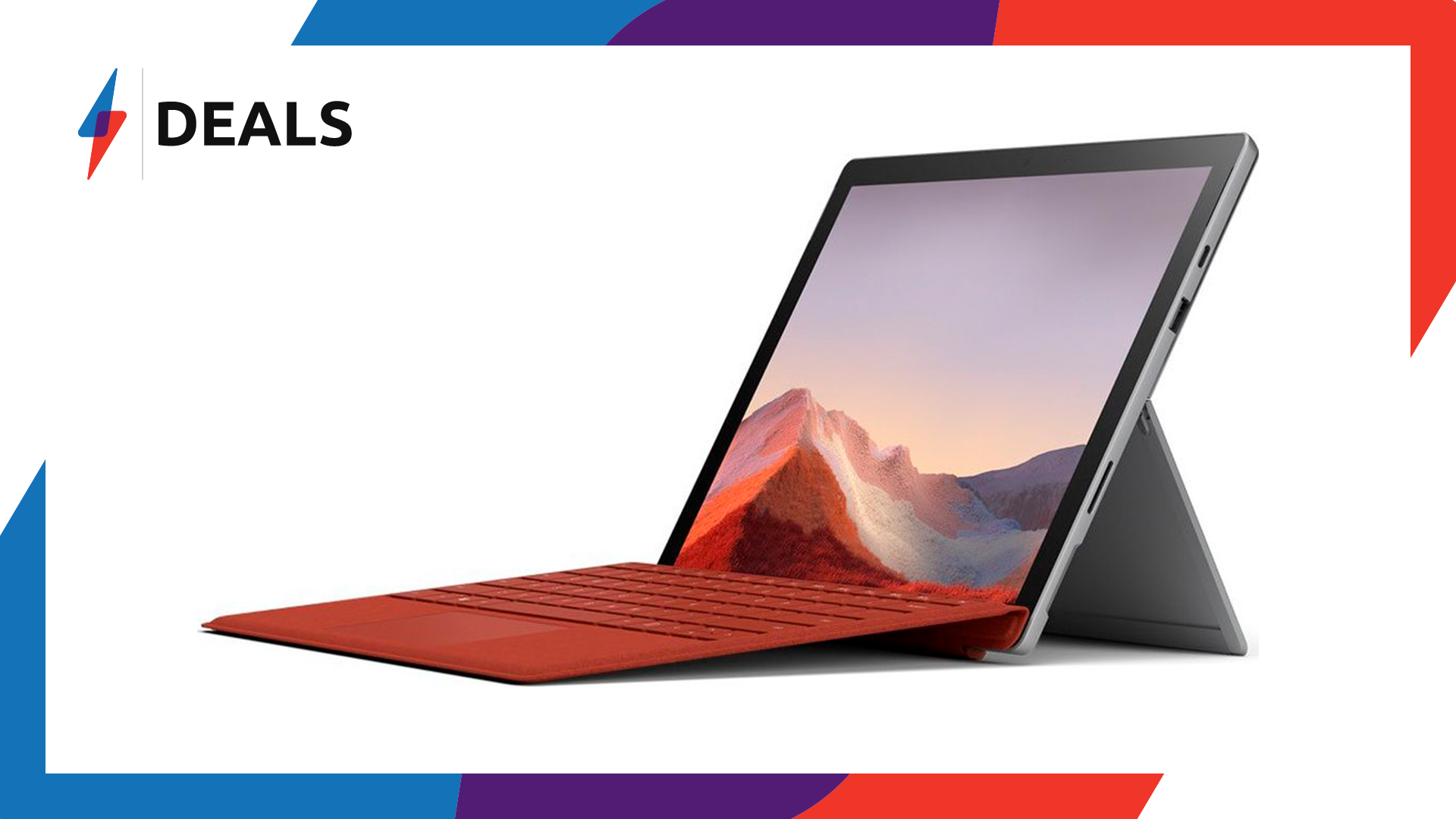 Free £100 gift card with the brand new Microsoft Surface Pro 7