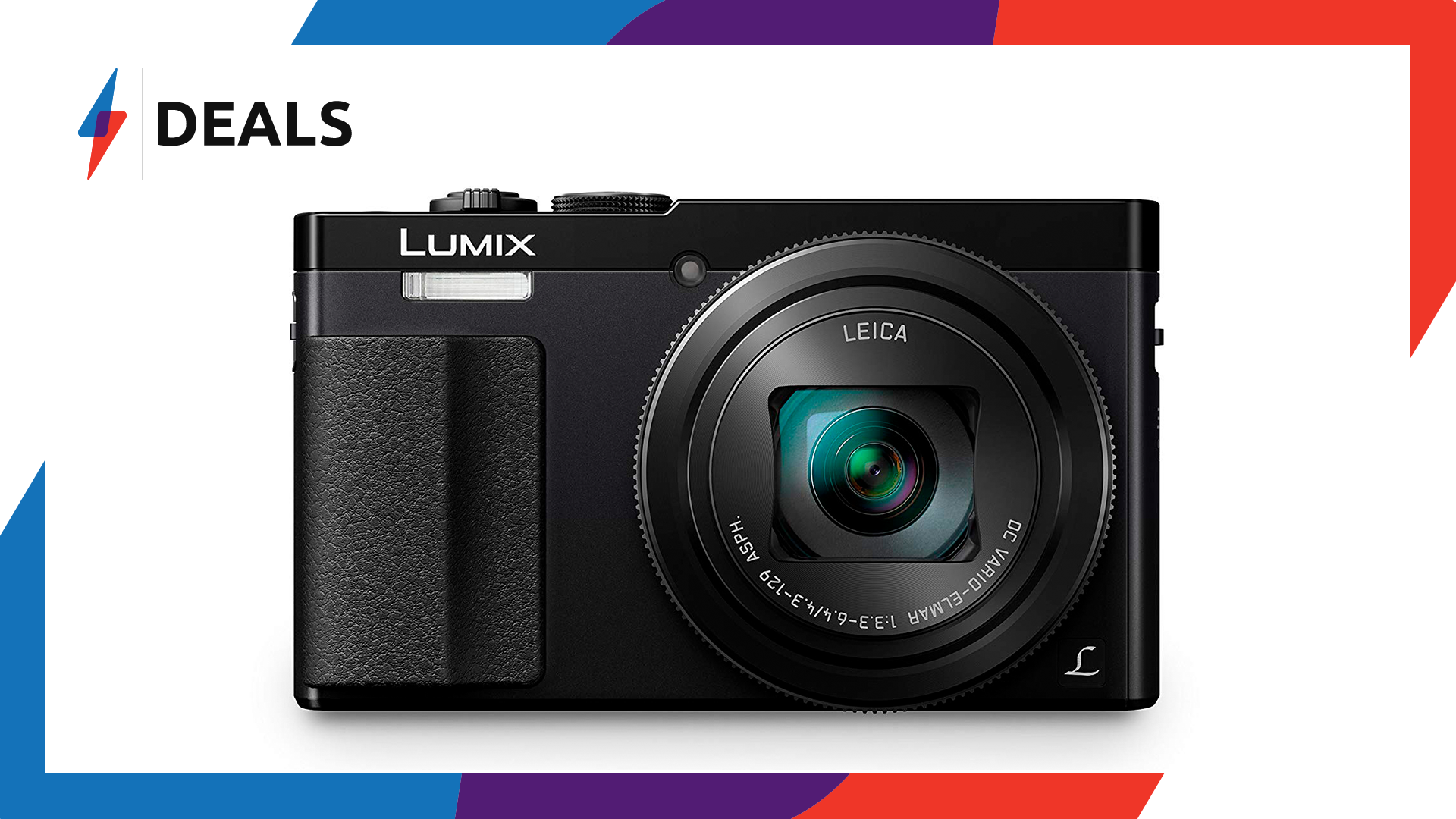 For today only, the Panasonic Lumix TZ70 is now at is cheapest price since Black Friday
