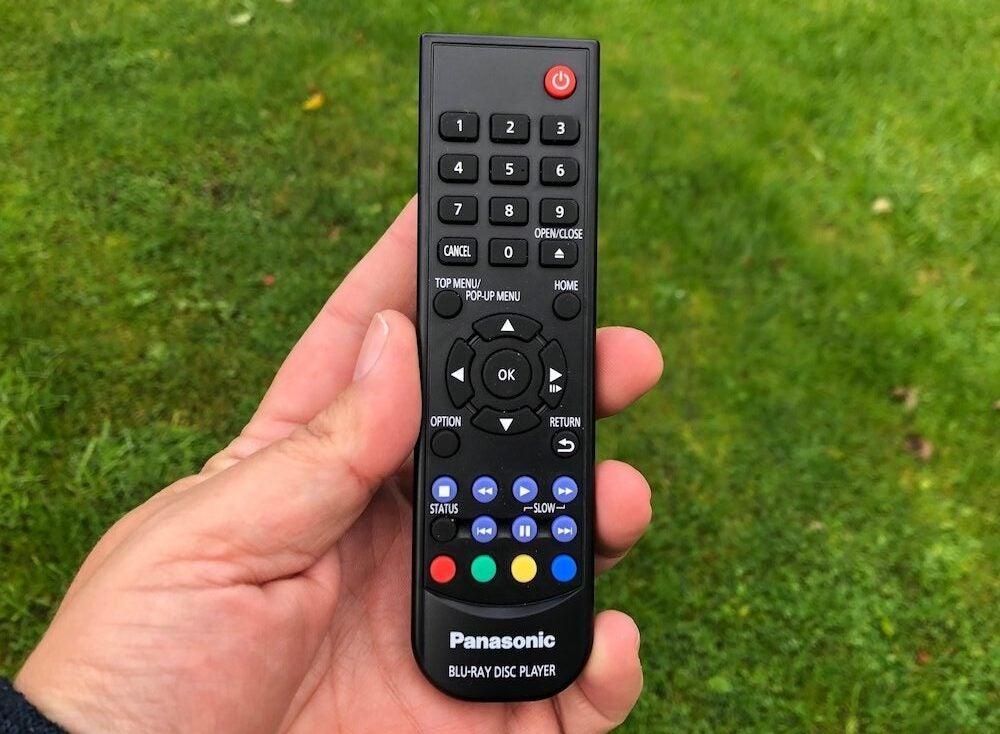 Panasonic DP-UB450 remote control