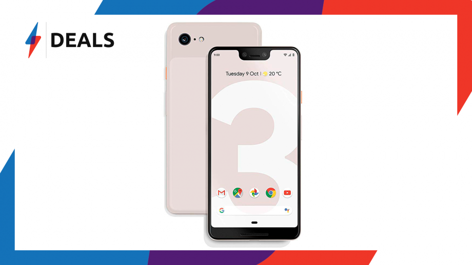 There is now a phenomenal £340 discount on the Pixel 3 XL SIM-free handset