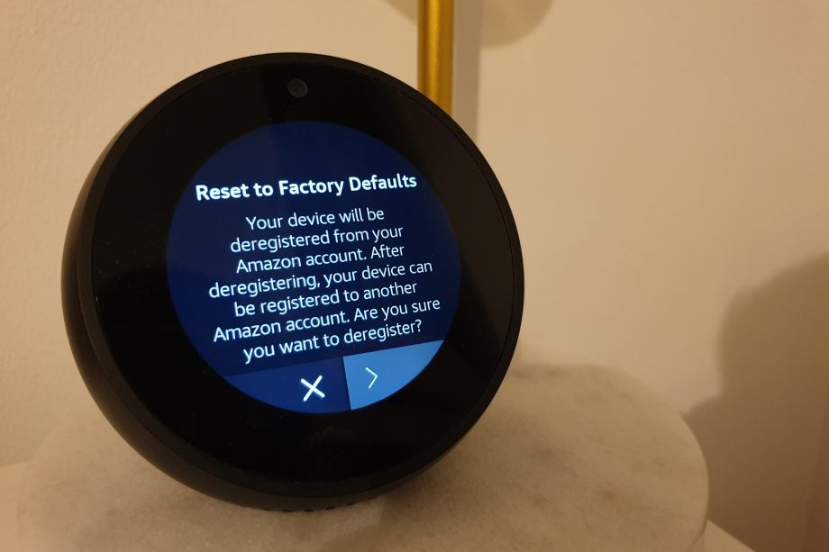 How to reset an Amazon Echo