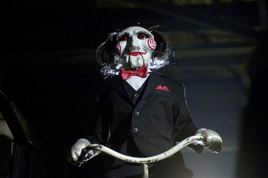 Saw Jigsaw Killer puppet