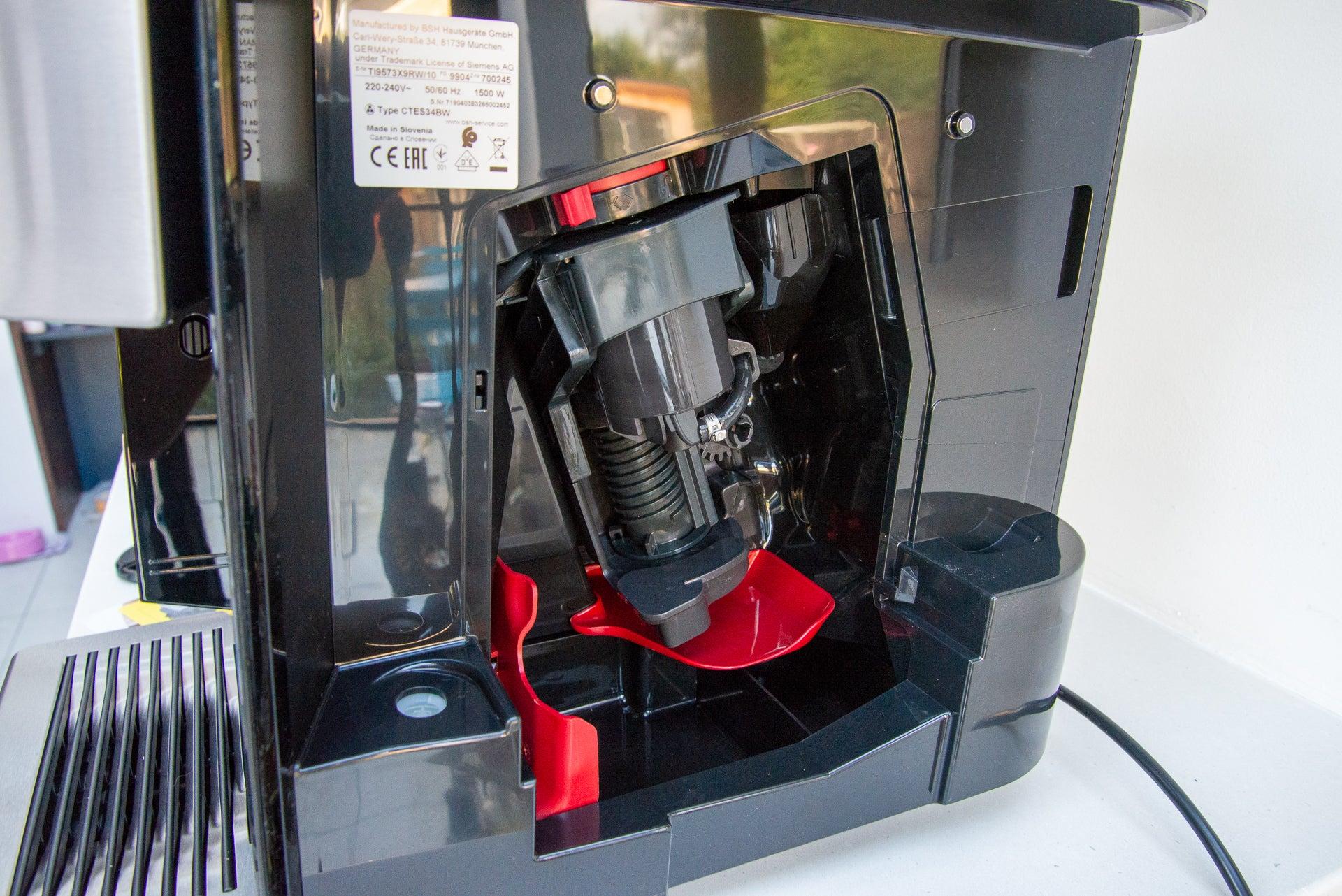 Siemens EQ.9 Plus Connect brew unit