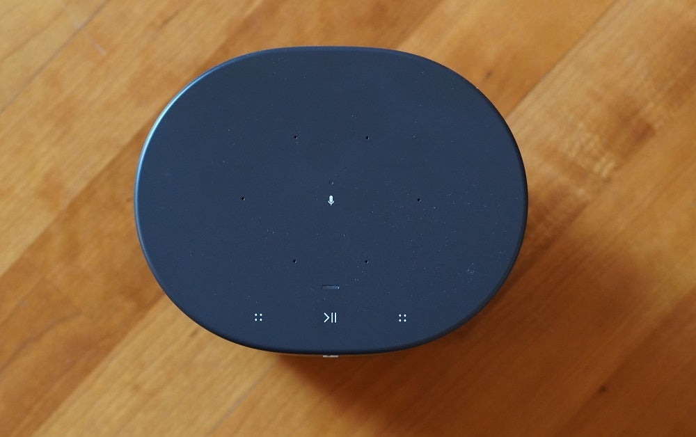 The Sonos Move touch capacitive controls