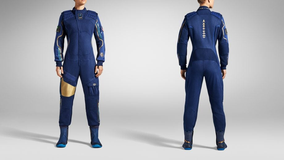 Under Armour's spacesuit for Virgin Galactic passengers may be the coolest clothing ever made