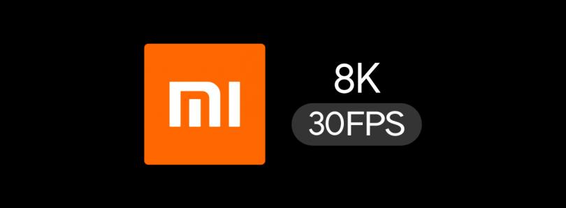 Xiaomi 8K 30FPS