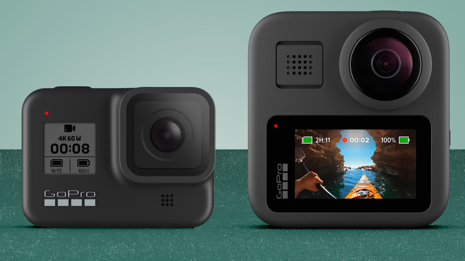 GoPro Hero 8 Black vs GoPro Max