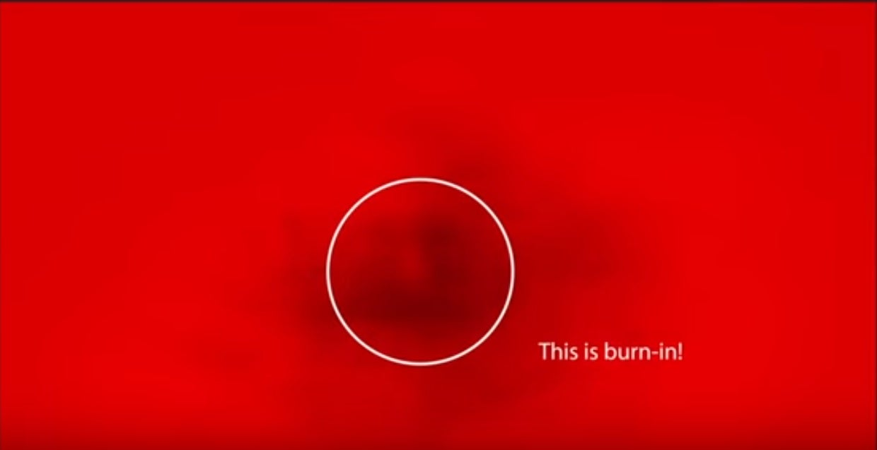 Samsung S Oled Tv Burn In Psa Is A Cheeky Dig At Lg