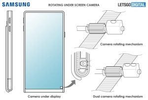 Samsung rotating camera patent