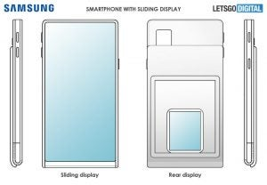 Samsung sliding display patent