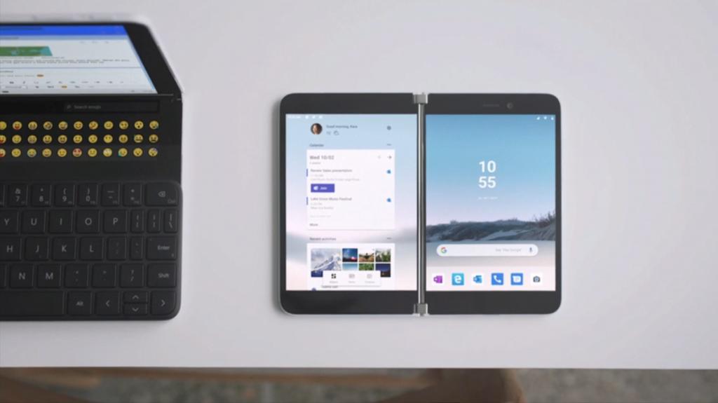 Microsoft Surface Duo twin screens
