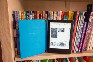 Amazon Kindle Kids Edition home screen