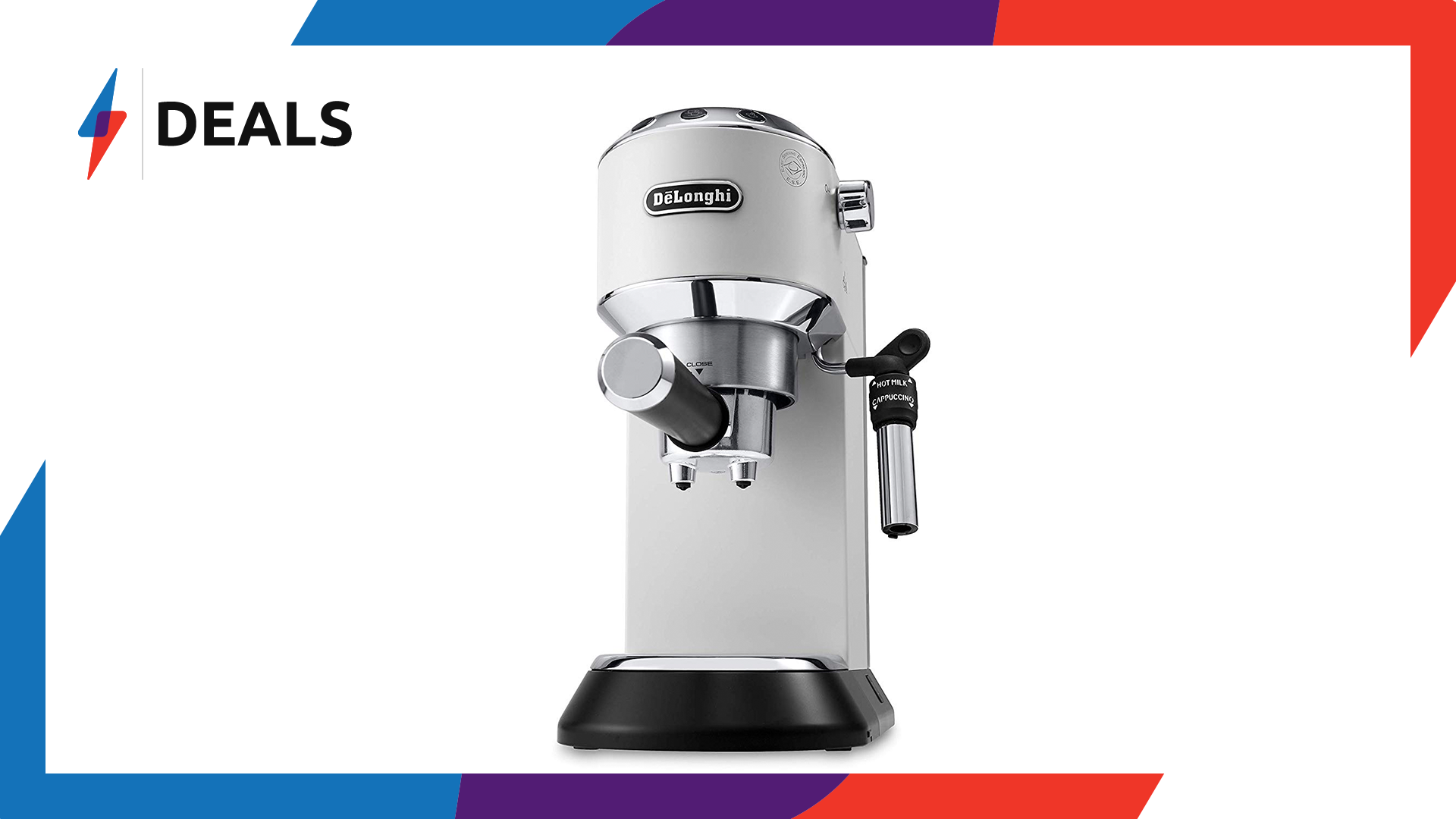 Wake up and smell the deals — Save £80 on this De'Longhi coffee machine