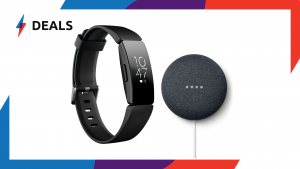 Fitbit Inspire HR and Nest Mini Bundle