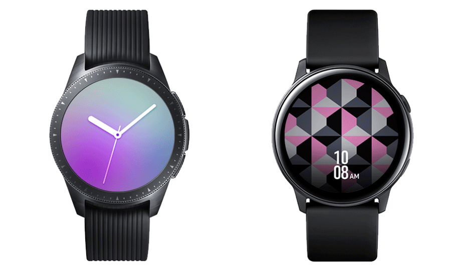 Galaxy Watch and Galaxy Watch Active