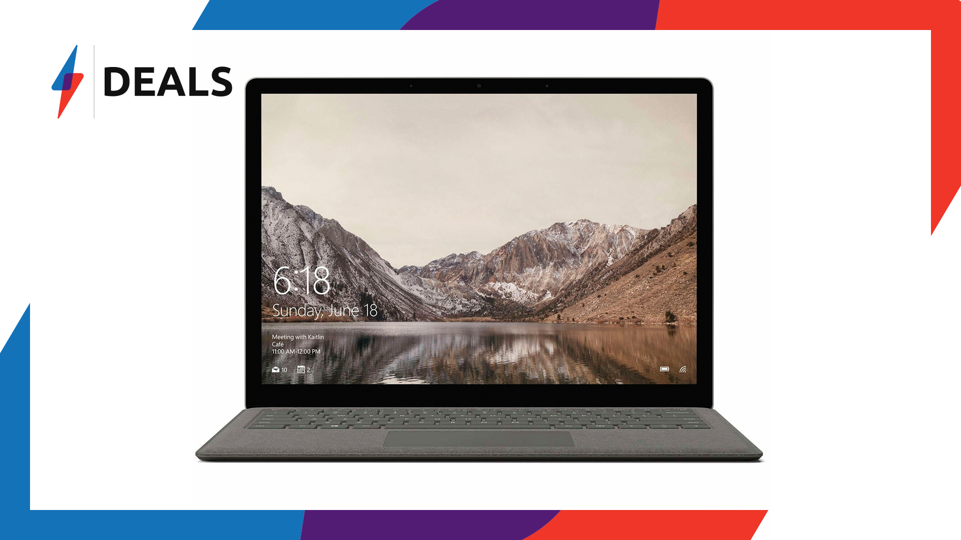 Save a whopping £400 on the Microsoft Surface Laptop for a limited time